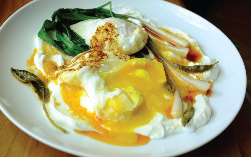 Artvin'in Meşhur Yoğurtlu Yumurtası Çılbır